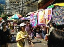 Stary hurtowy rynek, Thailand Zdjęcia Royalty Free