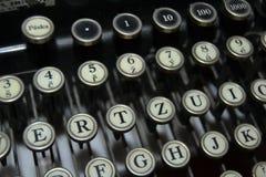 Stary i ładny maszyna do pisania dla pracy Fotografia Stock