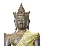Stary i grunge Buddha wizerunek Zdjęcie Royalty Free