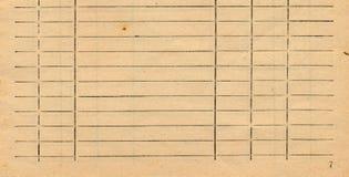 Stary księgowości książki strony papieru tło Obrazy Royalty Free