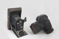 Stary i nowy fotografia stock