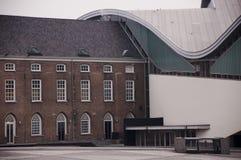 Stary i nowy budynek Zdjęcia Royalty Free