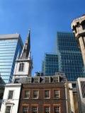 Stary i nowy Londyn fotografia stock