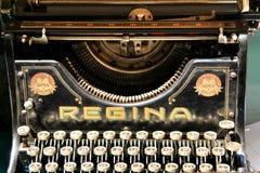Stary i pi?kny rocznika maszyna do pisania fotografia stock