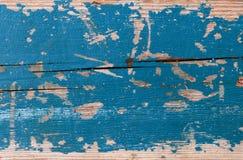 Stary i przetarty drewniany tło Zdjęcia Royalty Free
