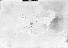 Stary i uszkadzający fotograficzny papier niewłaściwie rozwijał pożytecznie jak zdjęcia stock