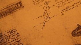 Stary inżynieria rysunek