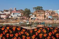 Stary indyjski miasteczko Zdjęcie Royalty Free