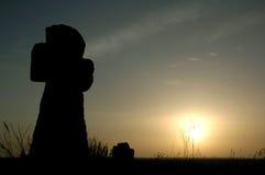 stary intersekt słońca Zdjęcia Stock