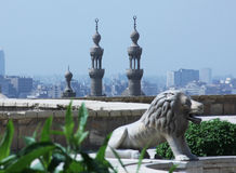 Stary islamski Cairo w Egypt Zdjęcie Royalty Free