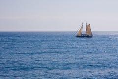 stary jacht Zdjęcia Royalty Free