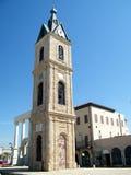 stary Jaffa 2011 zegarowy wierza Zdjęcia Royalty Free