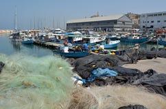 Stary Jaffa miasta port w Tel Aviv Jaffa, Izrael - Zdjęcia Royalty Free