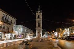 Stary Jaffa przy nocą. Tel aviv. Izrael Zdjęcia Royalty Free