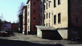 Stary jard w mieście zbiory