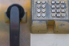 stary jawny telefon Zdjęcia Stock