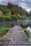 Stary Jetty Loch Ard Obrazy Stock