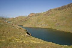 stary jeziora łodzi rybackich Obrazy Stock