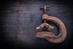 Stary kahat na rocznika drewna desce Obraz Royalty Free