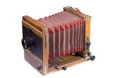 stary kamera duży format Zdjęcie Royalty Free