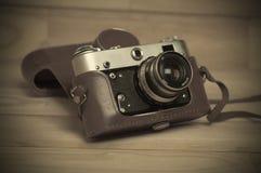 stary kamery światła Zdjęcie Stock