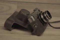stary kamery światła Obrazy Royalty Free