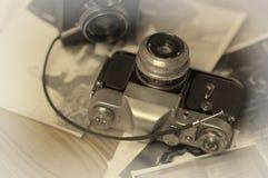 stary kamery światła Zdjęcia Stock