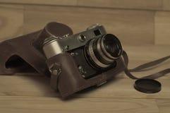 stary kamery światła Fotografia Stock
