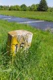 Stary kamień milowy 16 obraz stock