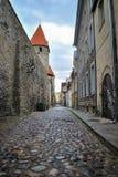 Stary kamienia kasztel - Tallinn zdjęcia royalty free