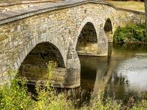 Stary kamienia most nad Antietam zatoczką Zdjęcie Stock