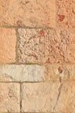 Stary Kamiennej ściany tło średniowieczny kościół, Hiszpania zdjęcie stock