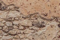 Stary Kamiennej ściany tło obraz royalty free