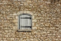Stary Kamiennej ściany tło Zdjęcie Stock