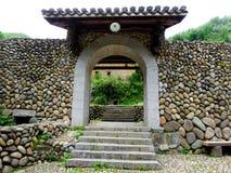 Stary kamienny drzwi Obraz Stock