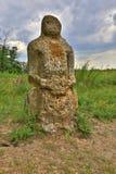 Stary kamienny idol Fotografia Stock
