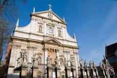 Stary kamienny kościół zdjęcie royalty free