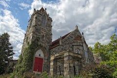 Stary Kamienny kościół w Georgetown dc Washington fotografia royalty free