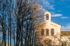 Stary kamienny kościół w Zamora, Hiszpania obrazy royalty free