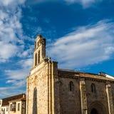 Stary kamienny kościół w Zamora, Hiszpania obraz stock