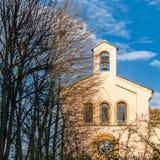 Stary kamienny kościół w Zamora, Hiszpania zdjęcia royalty free