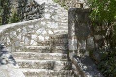 Stary kamienny schody Obraz Stock