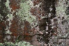 Stary kamienny tekstury czerni abstrakta tło Obrazy Stock