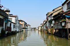 Suzhou kanał Zdjęcia Stock