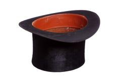 Stary kapelusz na bielu Obrazy Stock
