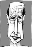 stary karykatura mężczyzna Fotografia Stock