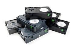 stary kasety wideo Fotografia Royalty Free