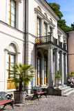 Stary kasztel dla królewiątka umieszczającego na Djurgaarden Szwecja dzwonił Rosendals slott Zdjęcie Stock