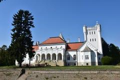 Stary kasztel tradiotinal Dundjerski rodzina, Serbia obrazy royalty free
