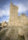 Stary kasztel w Castelo Novo Fotografia Stock